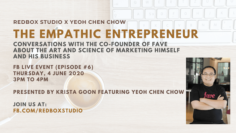 yeoh chen chow fave co-founder