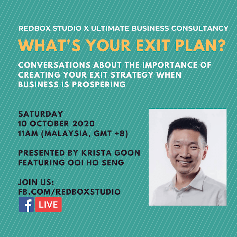 business exit strategy fb live