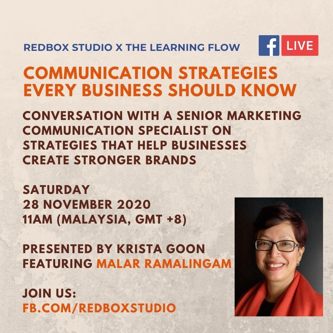 communication strategy for businesses - malar ramalingam