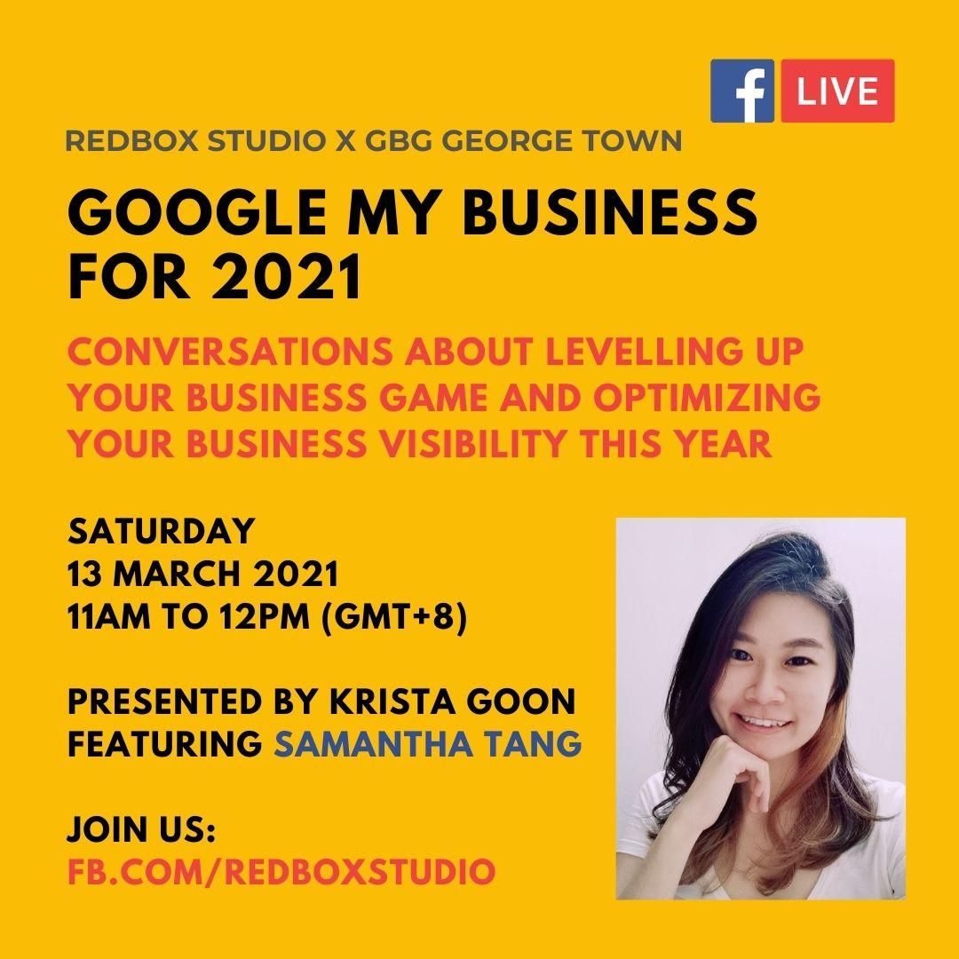google my business talk with samantha tang
