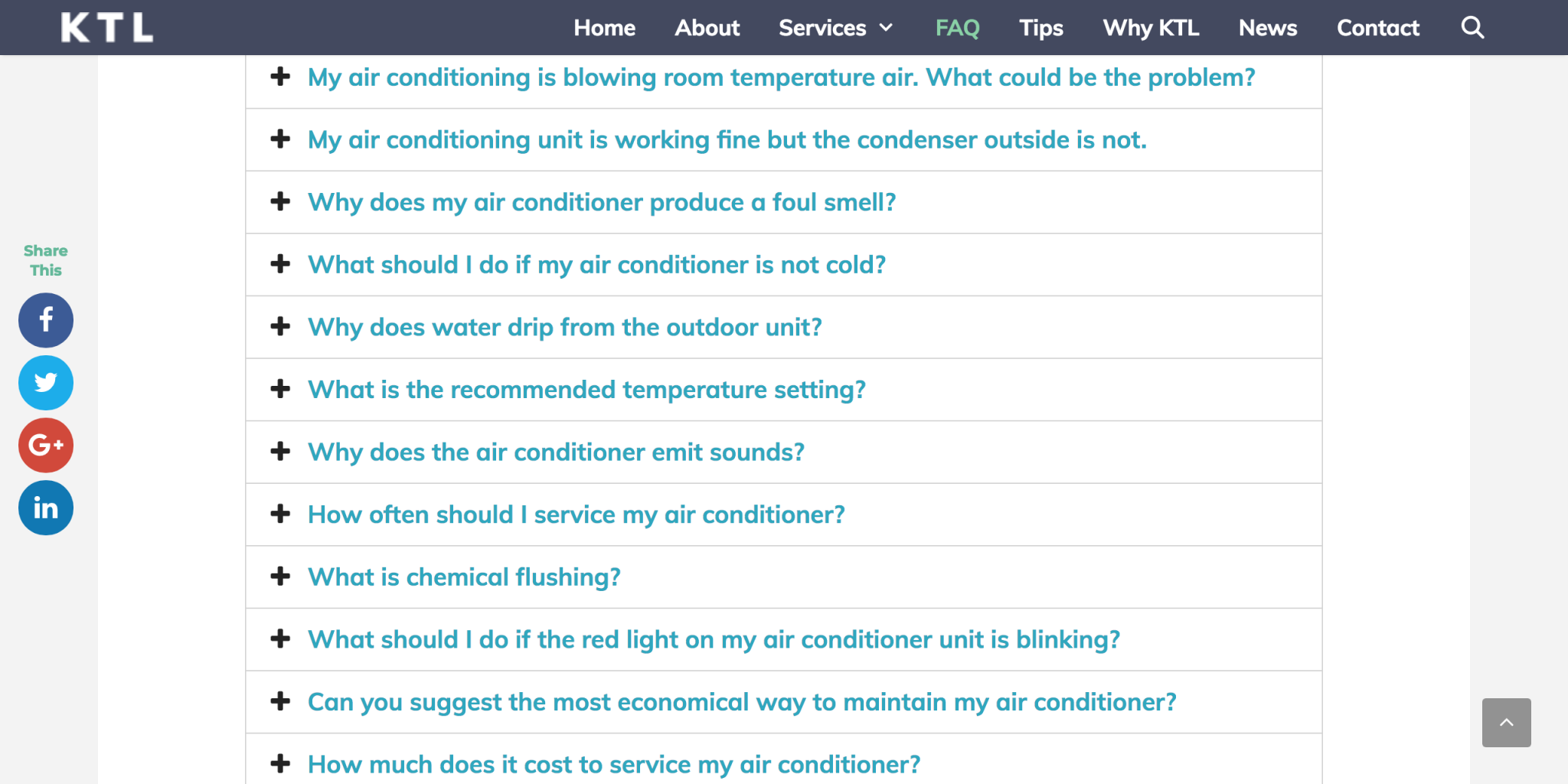common-aircon-problems