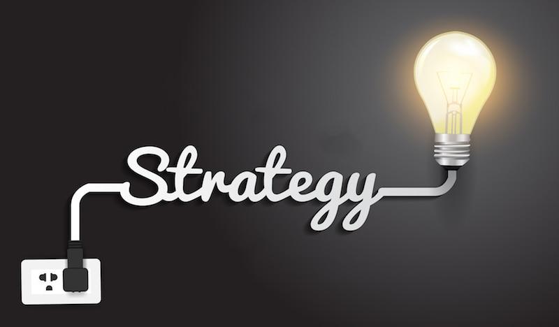 marketing strategy light bulb